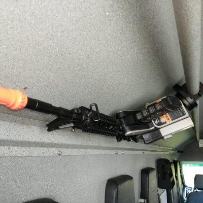 overhead mounted 1082 in swat van